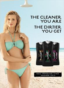The Cleaner You Are The Dirtier You Get Lynx Advert